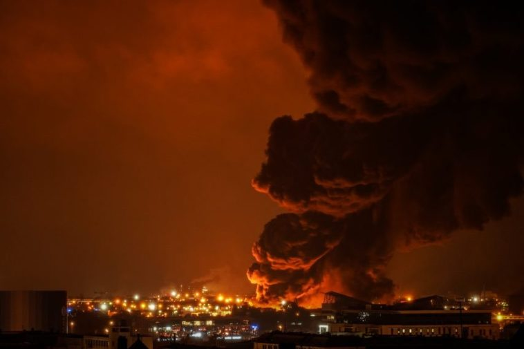 Incendie usine à Rouen