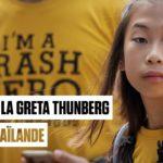 Lilly, la Greta Thunberg de Thaïlande, en guerre contre le plastique