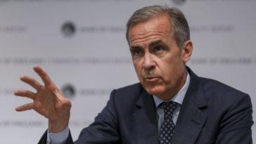 Banque d'Angleterre effondrement réchauffement climatique