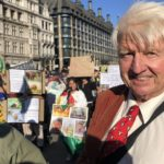 Stanley Johnson père de Boris Johnson extinction rebellion