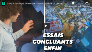 The Ocean Cleanup Océan Pacifique