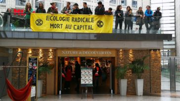 Extinction Rebellion Italie 2 Paris