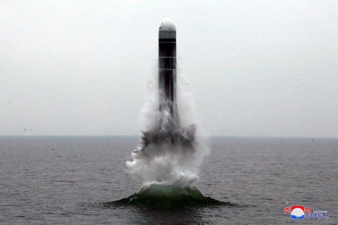 Corée du Nord Missile sous-marin