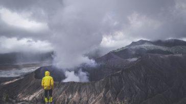 extinction de masse carbone volcan