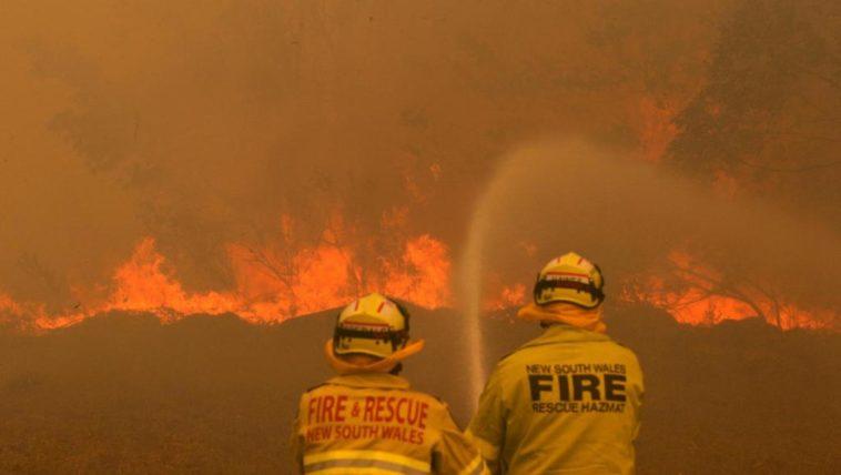 réchauffement climatique incendie australie écologie