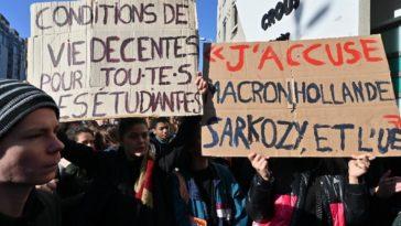 suppression aide étudiants gouvernement 35 millions