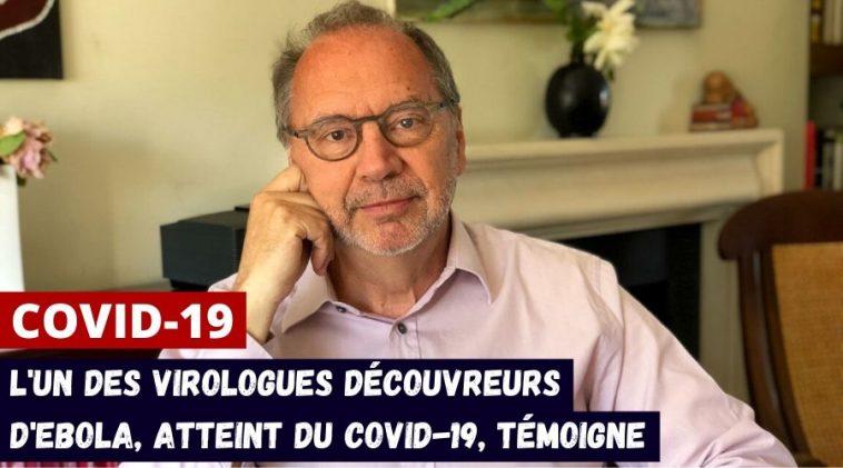 Peter Piot témoignage coronavirus
