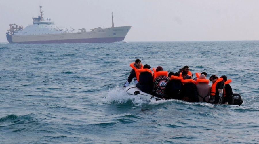 migrants Manche