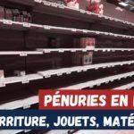 ruptures de stock pénuries france pâtes jouets blé électronique